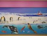 Antarctica mural